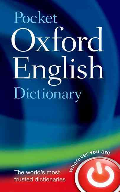 Pocket Oxford English Dictionary By Oxford University Press (COR)